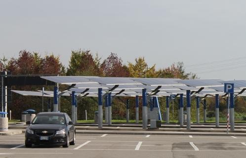 Coperture per auto e pannelli solari soluzione efficace!