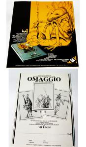 """1^ e 4^ di copertina del catalogo promo """"VII Legio"""""""
