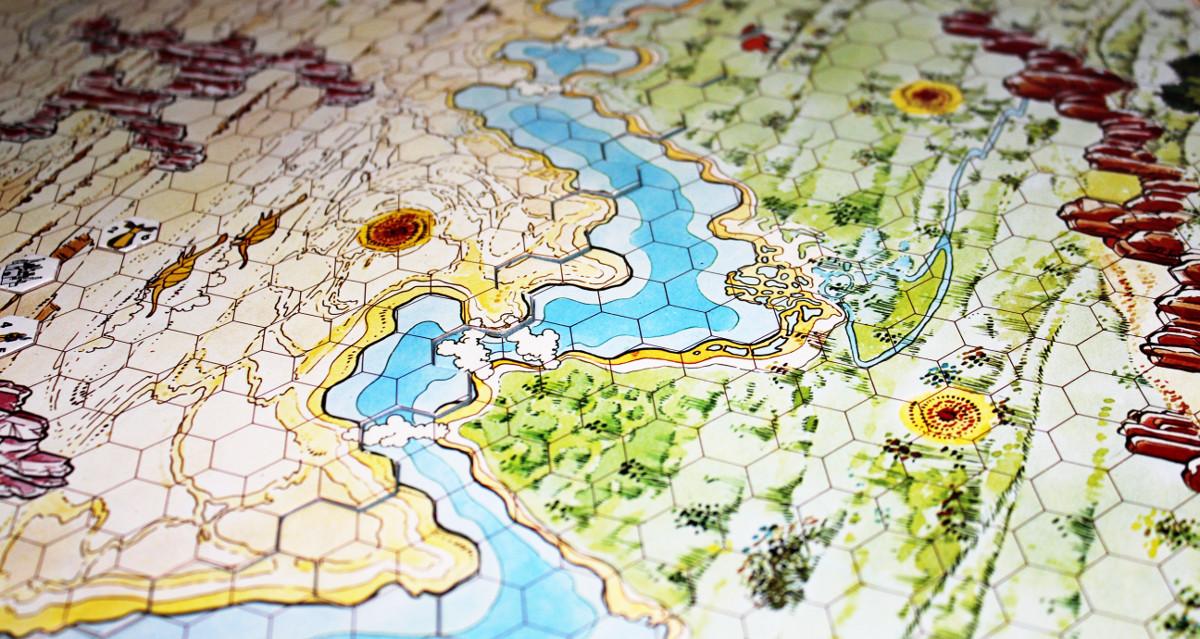 Plancia di gioco di Zargo's Lords